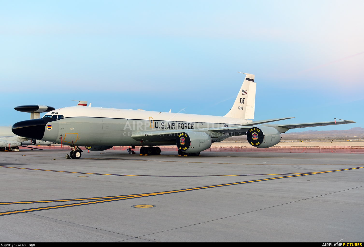 USA - Air Force 62-4133 aircraft at Nellis AFB