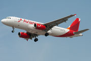 Ex-TACA Airbus A320 now in Avianca livery title=