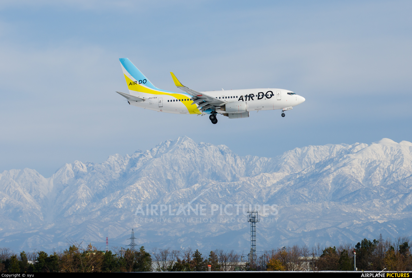 Air Do - Hokkaido International Airlines JA07AN aircraft at Toyama