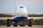 - - Transaero Airlines Boeing 747-400 aircraft