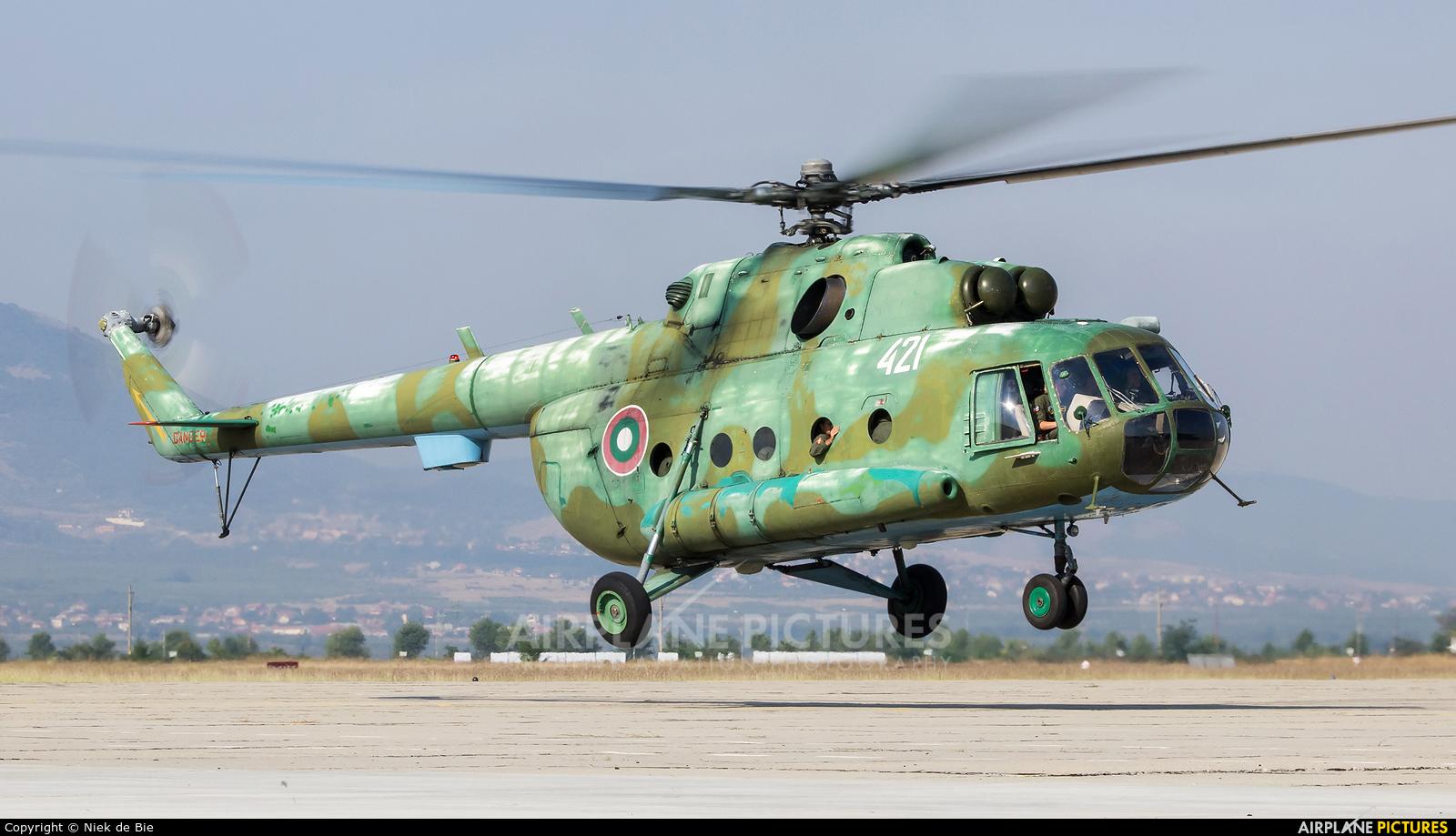 Bulgaria - Air Force 421 aircraft at Plovdiv - Krumovo