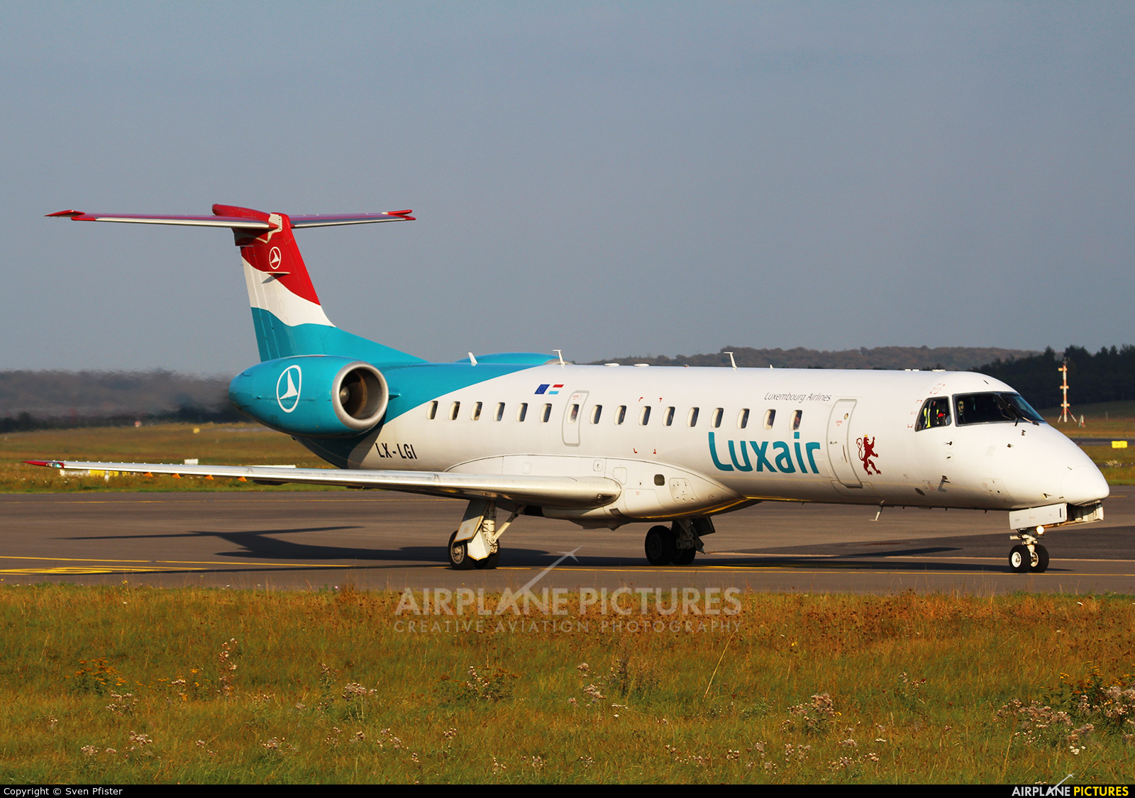 Luxair LX-LGI aircraft at Luxembourg - Findel