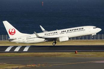 JA338J - JAL - Express Boeing 737-800