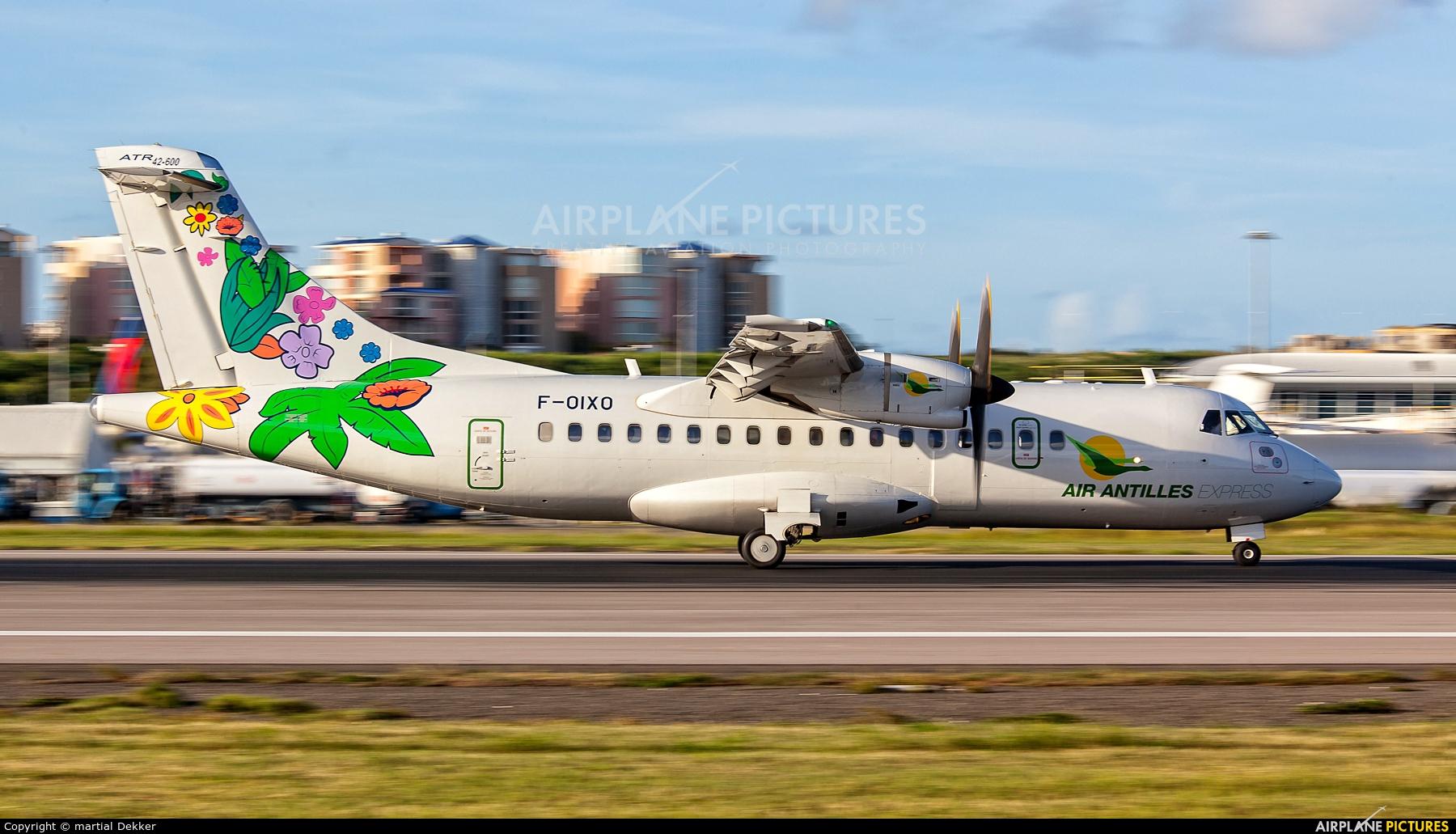 Air Antilles Express F-OIXO aircraft at Sint Maarten - Princess Juliana Intl