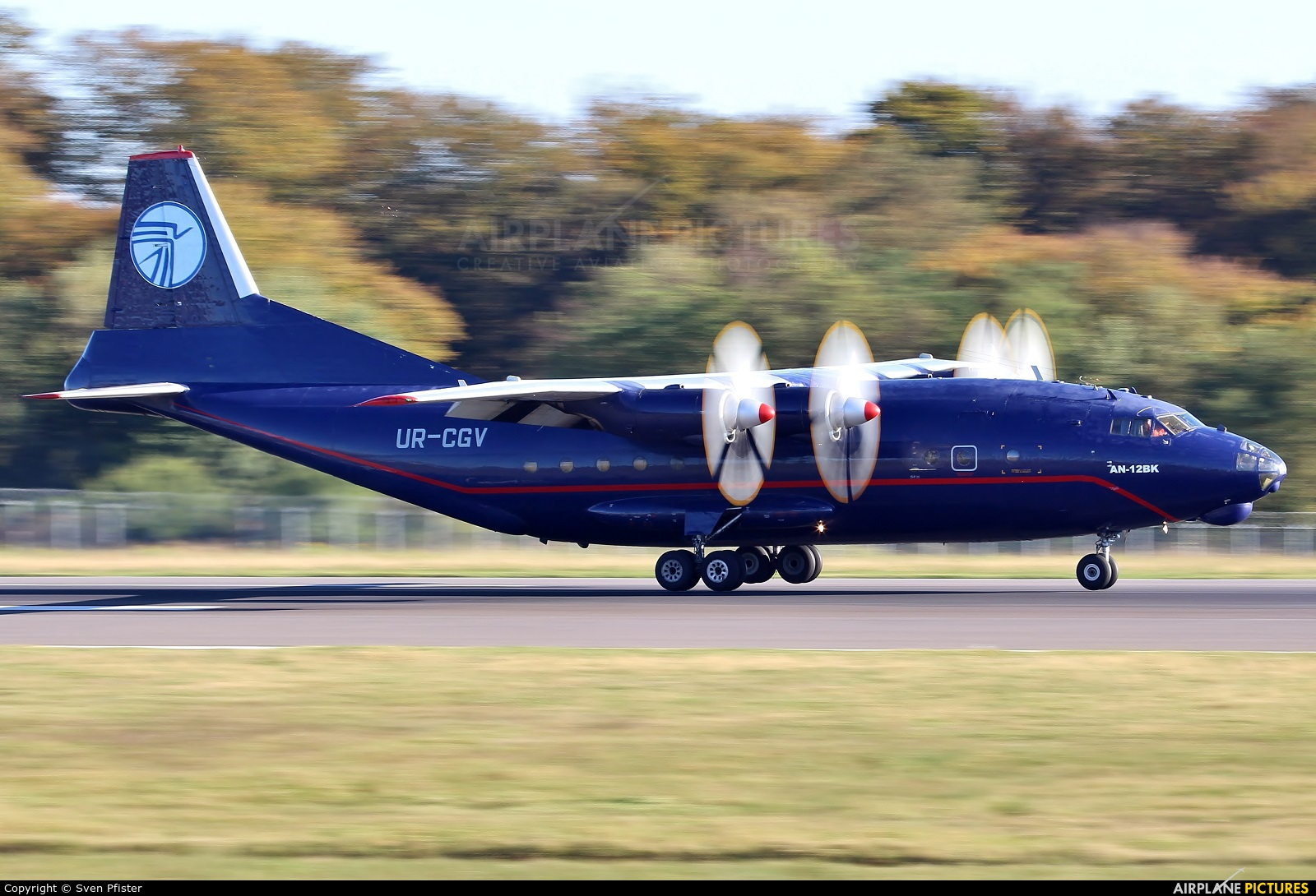 Ukraine Air Alliance UR-CGV aircraft at Luxembourg - Findel