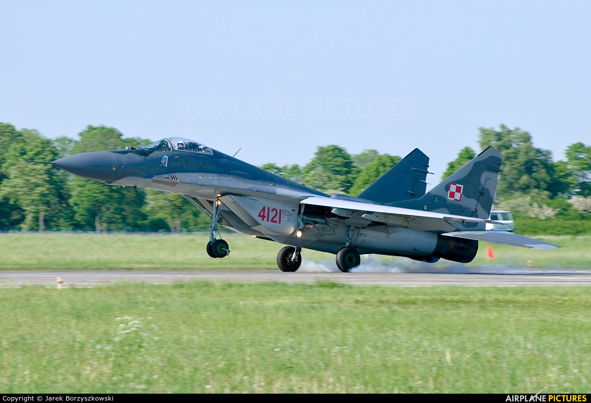 Poland - Air Force 4121 aircraft at Malbork