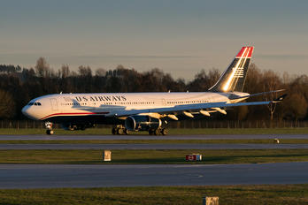 N286AY - US Airways Airbus A330-200