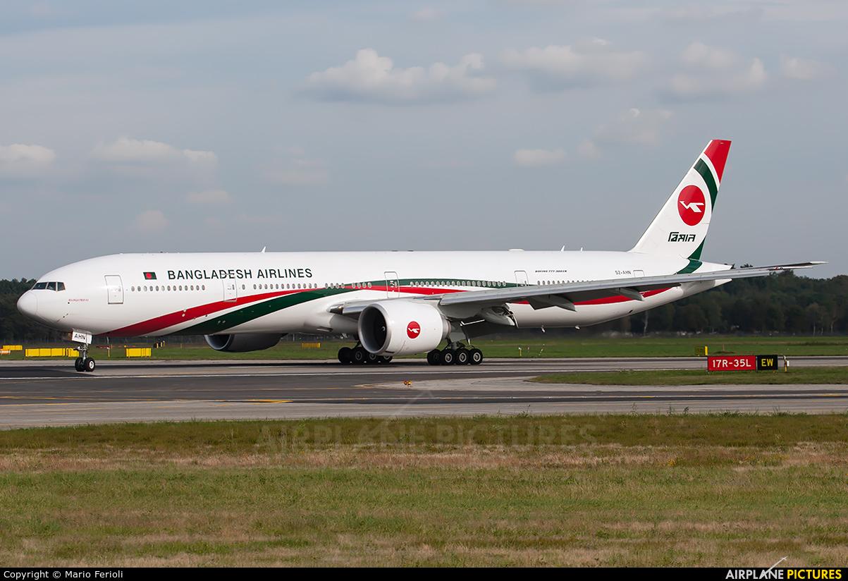 Biman Bangladesh S2-AHN aircraft at Milan - Malpensa