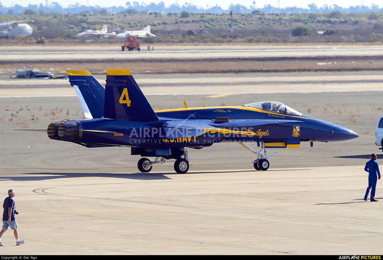 USA - Navy 163106 aircraft at Miramar MCAS / Mitscher Field