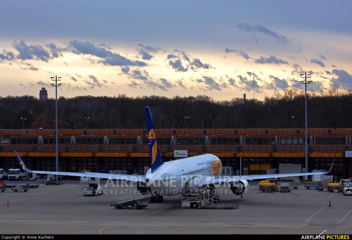 Mongolian Airlines JU-1021 aircraft at Berlin - Tegel