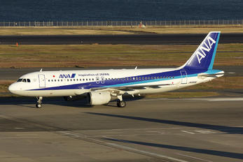 JA8300 - ANA - All Nippon Airways Airbus A320