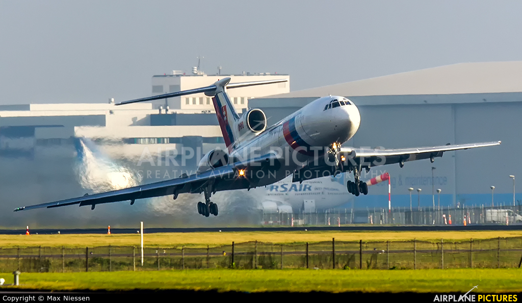 Slovakia - Government OM-BYO aircraft at Amsterdam - Schiphol