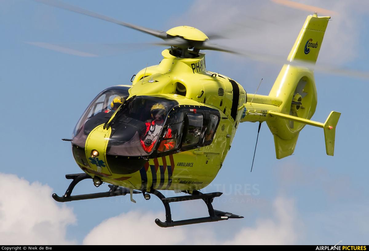 ANWB Medical Air Assistance PH-HVB aircraft at Uden - Volkel