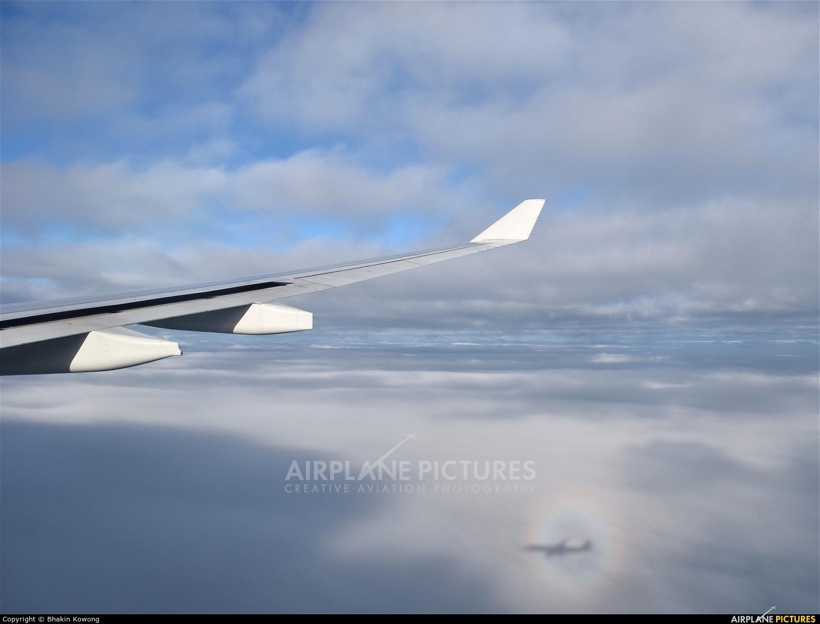 Cathay Pacific B-LAL aircraft at In Flight - International