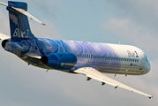 OH-BLM - Blue1 Boeing 717 aircraft