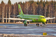 VP-BTX - S7 Airlines Airbus A319 aircraft
