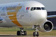 JU1011 - Mongolian Airlines Boeing 767-300ER aircraft