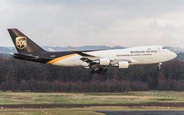 N577UP - UPS - United Parcel Service Boeing 747-400F, ERF