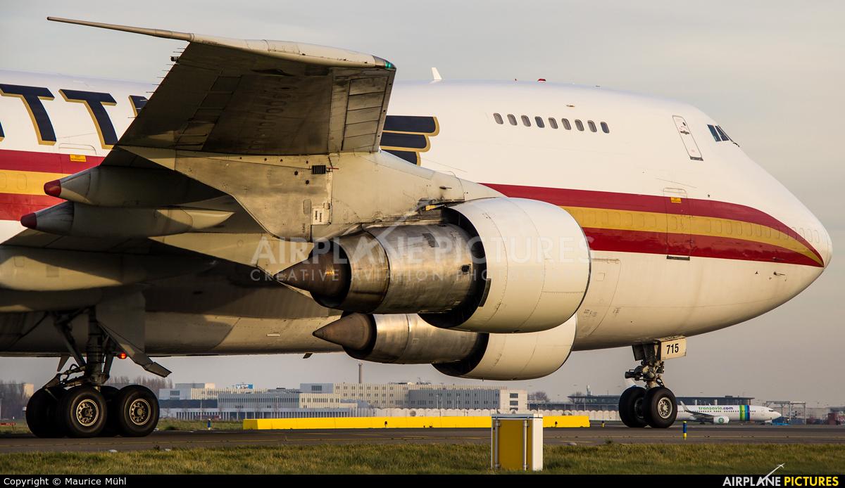 Kalitta Air N715CK aircraft at Amsterdam - Schiphol