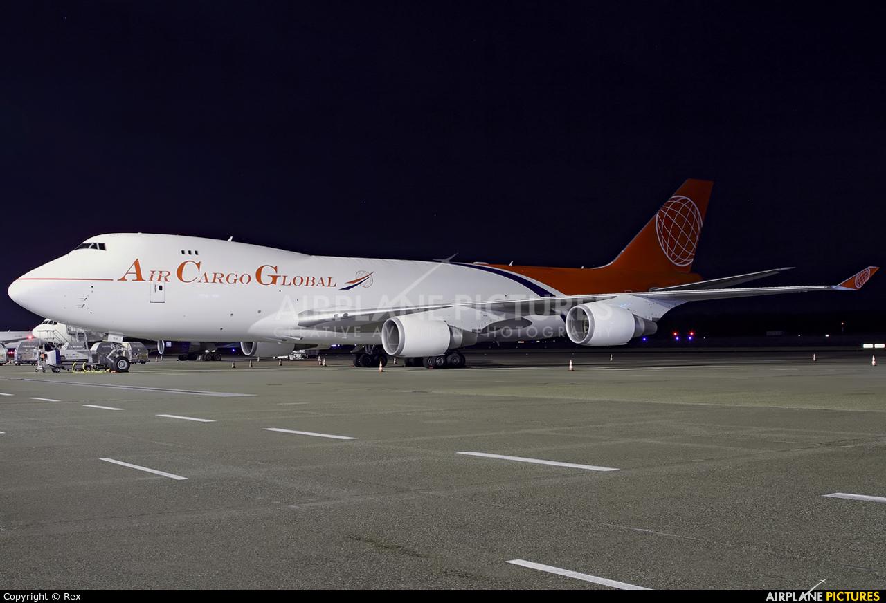 Air Cargo Global OM-ACA aircraft at Cologne Bonn - Konrad Adenauer