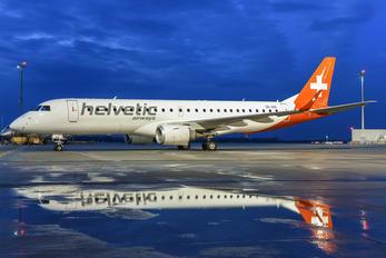 OE-IHD - Helvetic Airways Embraer ERJ-190 (190-100)