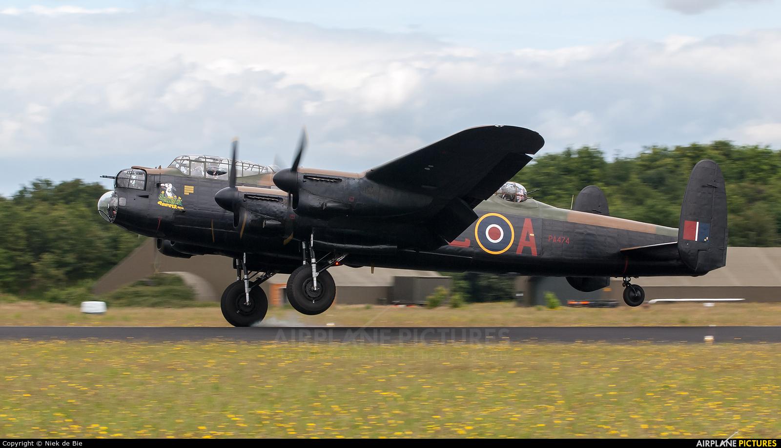 """Royal Air Force """"Battle of Britain Memorial Flight"""" PA474 aircraft at Gilze-Rijen"""