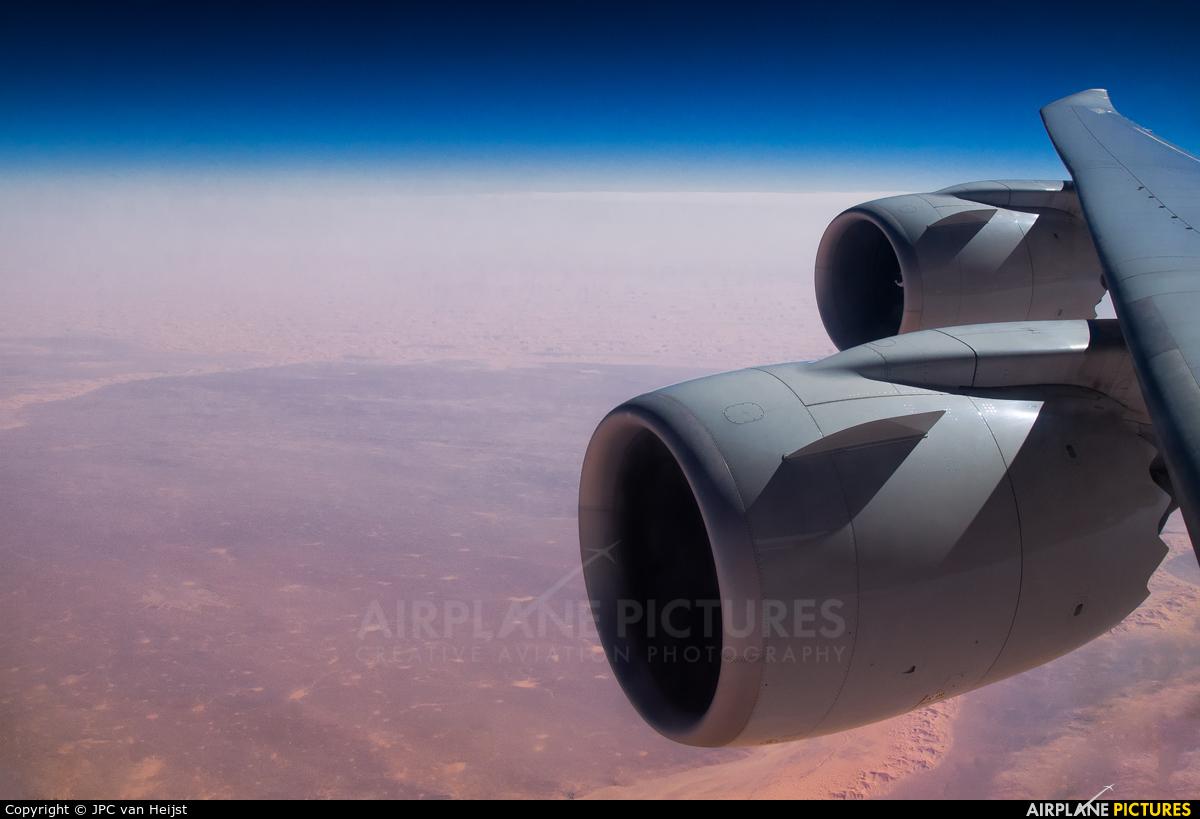 Cargolux LX-VCE aircraft at In Flight - Algeria