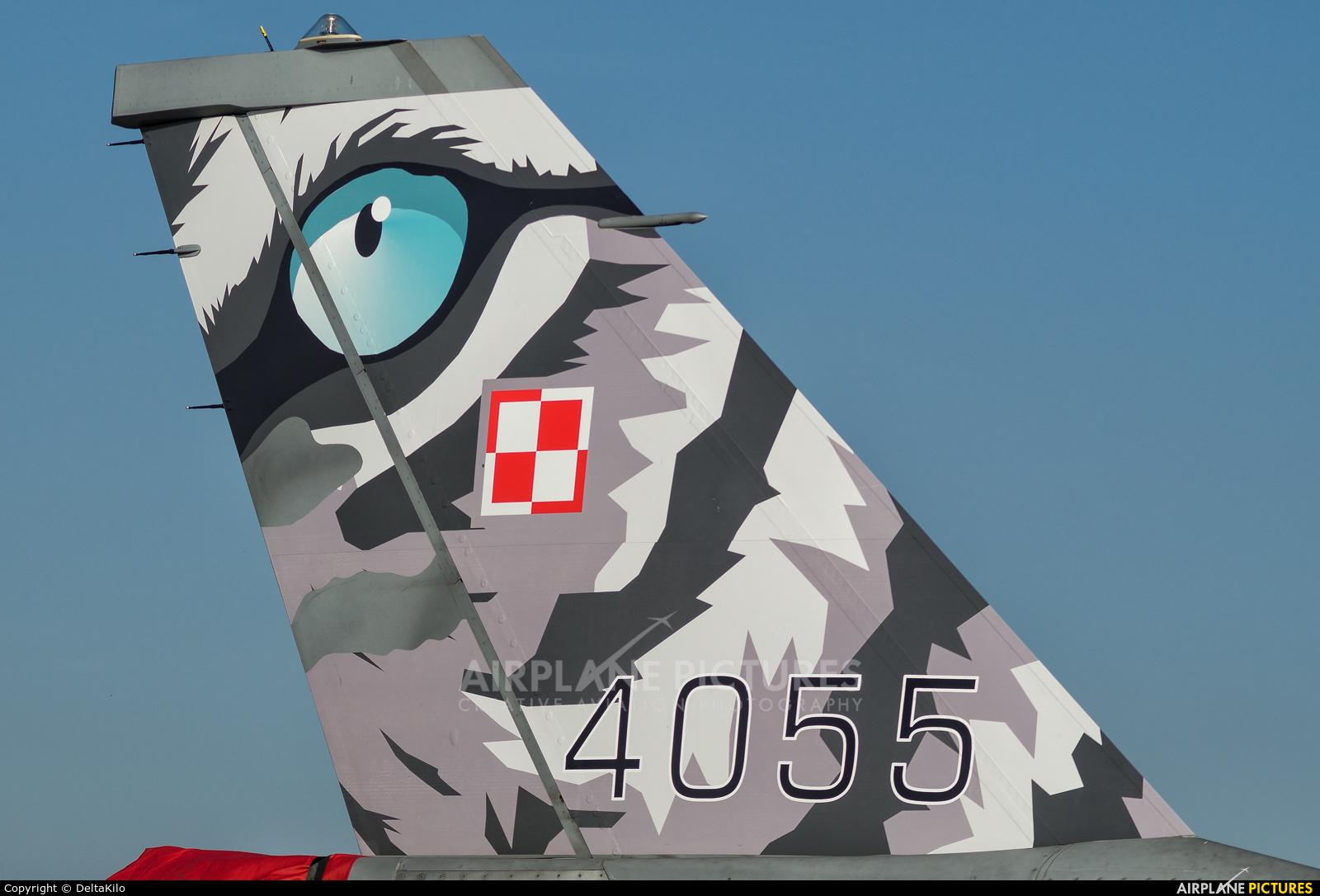Poland - Air Force 4055 aircraft at Poznań - Krzesiny