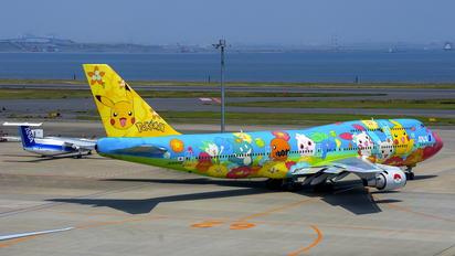 JA8956 - ANA - All Nippon Airways Boeing 747-400D