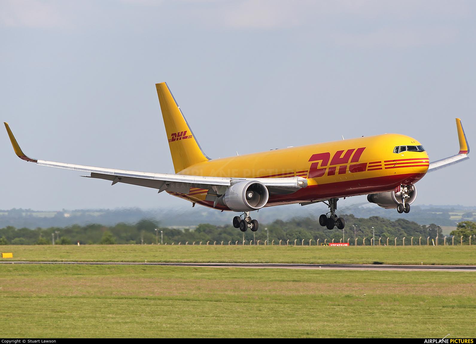 DHL Cargo G-DHLF aircraft at East Midlands
