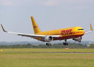 G-DHLF - DHL Cargo Boeing 767-300F