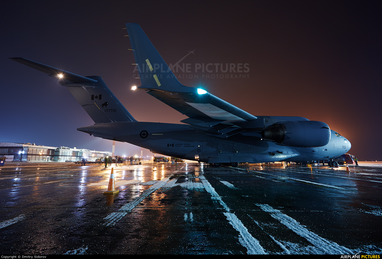 Canada - Air Force 177701 aircraft at Kiev - Borispol