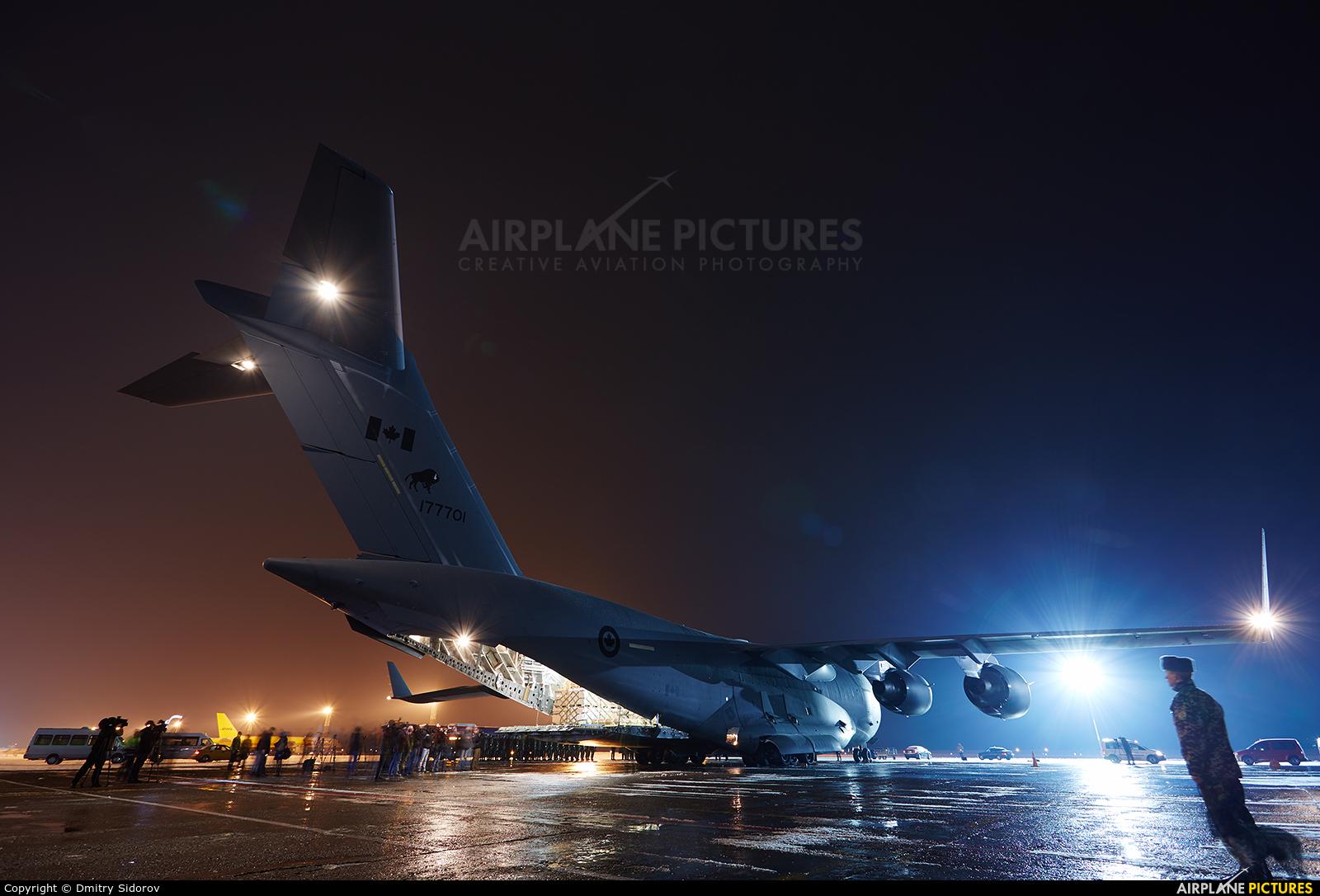 Canada - Air Force 177701 aircraft at Kiev - Borispol