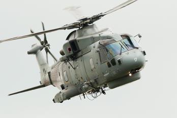 ZH858 - Royal Navy Agusta Westland AW101 111 Merlin HM.1
