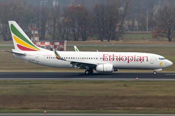 ET-AQN - Ethiopian Airlines Boeing 737-800 BBJ
