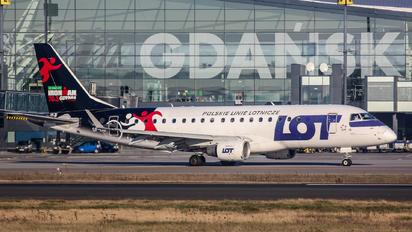 SP-LIB - LOT - Polish Airlines Embraer ERJ-175 (170-200)