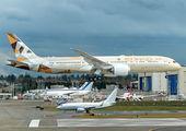 N1009N - Etihad Airways Boeing 787-9 Dreamliner aircraft