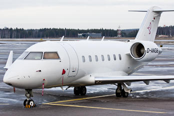 D-ANGB - MHS Aviation Canadair CL-600 Challenger 604