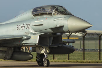 30+02 - Germany - Air Force Eurofighter Typhoon T