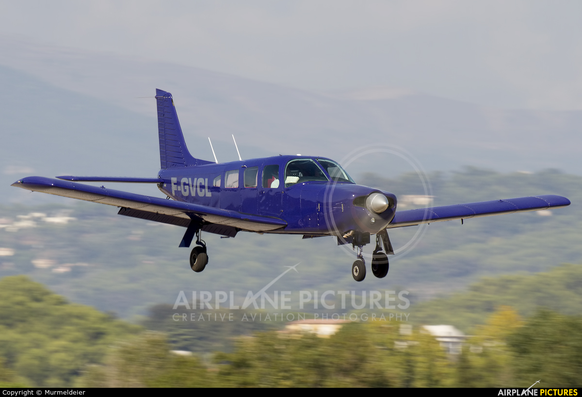 Private F-GVCL aircraft at Cannes - Mandelieu
