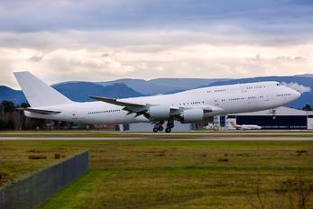 A7-HJA - Qatar Amiri Flight Boeing 747-8 BBJ