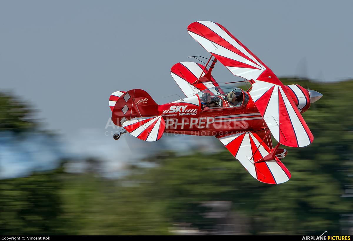 Sky  Academy PH-PEP aircraft at Deventer - Teuge
