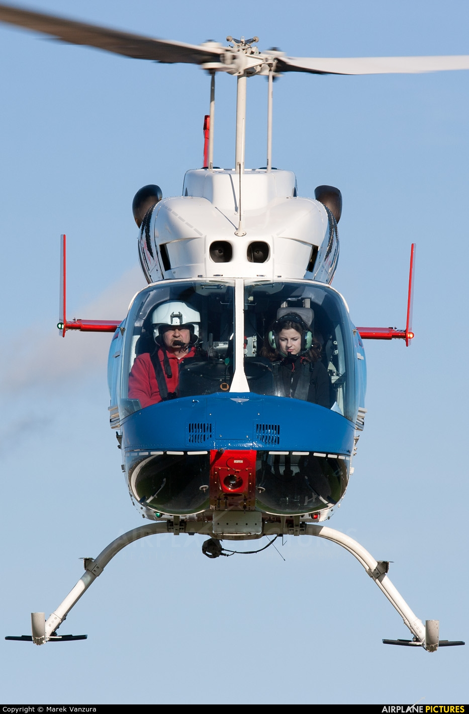 Alfa Helicopter OK-ZIU aircraft at Brno - Tuřany