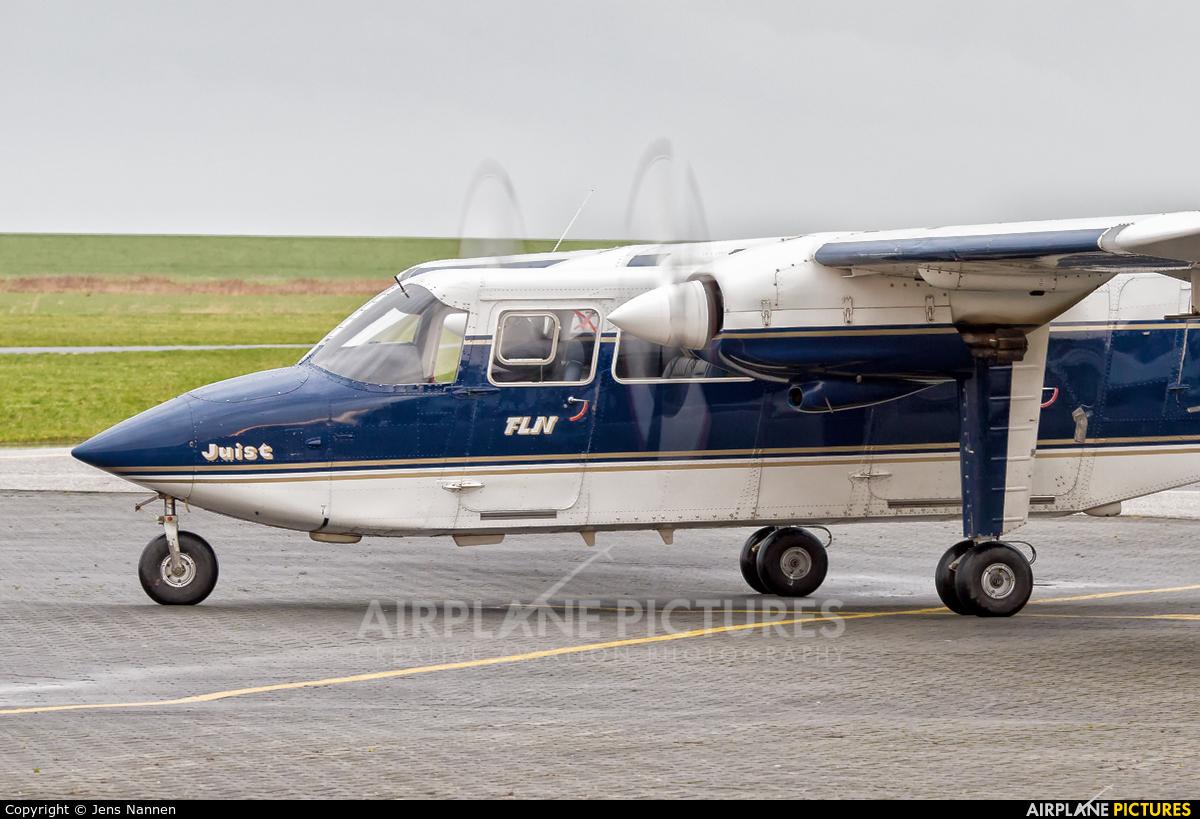 FLN Frisia-Luftverkehr D-IFUT aircraft at Norden - Norddeich