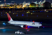 JA8299 - JAL - Japan Airlines Boeing 767-300 aircraft