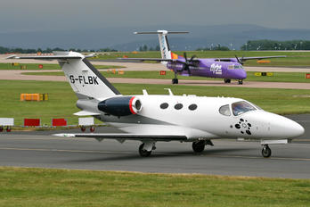 G-FLBK - TAG Aviation Cessna 510 Citation Mustang