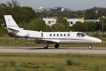OO-FPB - Private Cessna 550 Citation Bravo