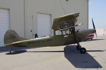 N4583V - Private Cessna L-19/O-1 Bird Dog