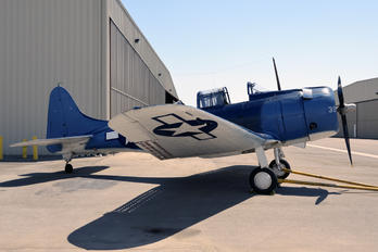 NX670AM - Air Museum Chino Douglas SBD-5 Dauntless