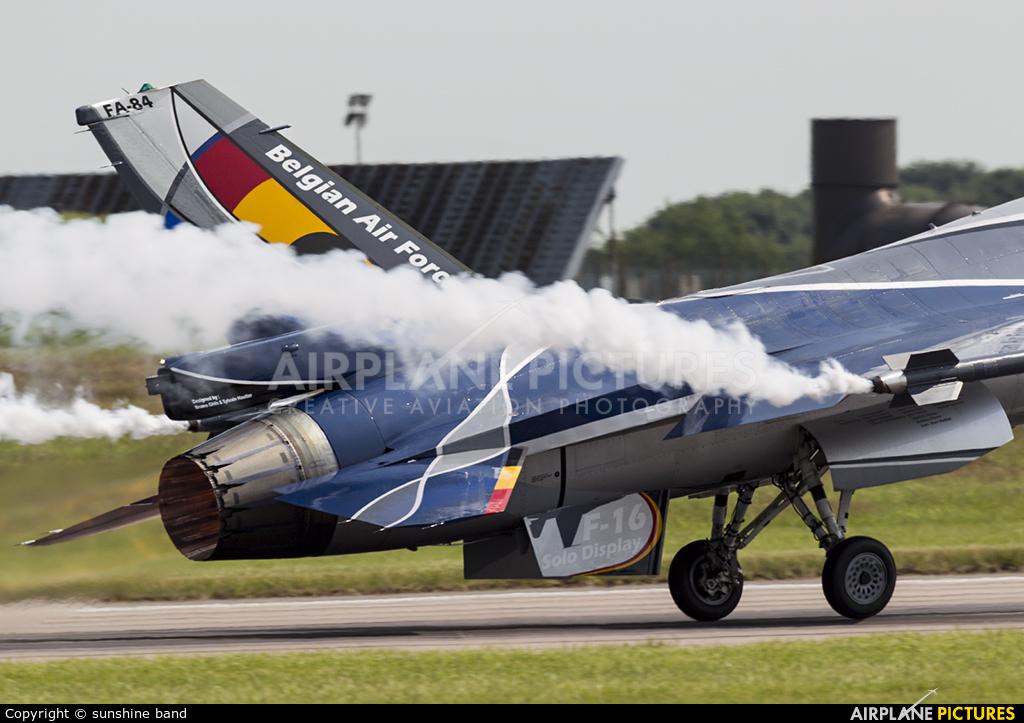 Belgium - Air Force FA-84 aircraft at Waddington